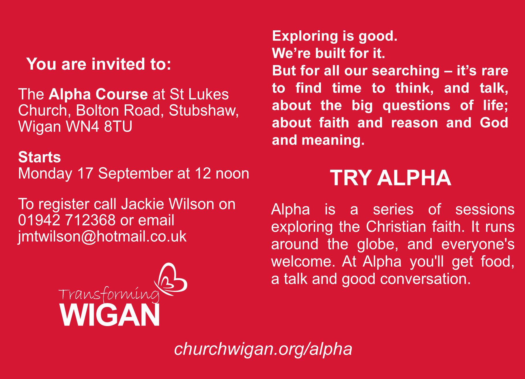 Exploring Our Christian Faith